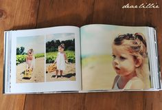 Dear Lillie: Making a Photo Book  {I've thought of doing this with the *masses* of artwork that Maddie creates weekly.}