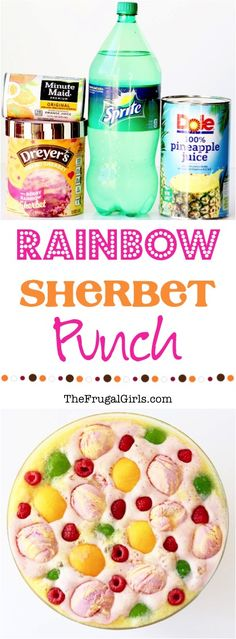 Sherbet Punch Recipe with Raspberry! This delicious punch is so EASY to make, a… Sherbet Punch Recipe with Raspberry! This delicious punch is so EASY to make, and the perfect drink for your Baby Shower, Bridal Shower, or Birthday Party! Bridal Shower Punch, Bridal Shower Drinks, Baby Shower Punch, Baby Shower Desserts, Shower Party, Party Party, Shower Games, House Party, Party Games