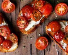 Toast fin de dinde aux tomates cerise rôties : http://www.fourchette-et-bikini.fr/recettes/recettes-minceur/toast-fin-de-dinde-aux-tomates-cerise-roties.html