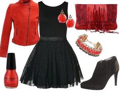 Soirée - Rouge et Noir