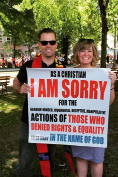 An Evangelical Pastor At His First Pride Parade