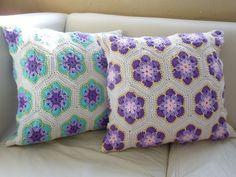 Tutorial #66 Paso a Paso Flores Africanas a Crochet   CTejidas [Crochet y Dos Agujas]