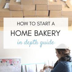 Home Bakery Business Archives - Emma Jean Landry Home Bakery Business, Baking Business, Cake Business, Business Names, Business Logo, Business Quotes, Home Baking, Baking Tips, Baking Bad