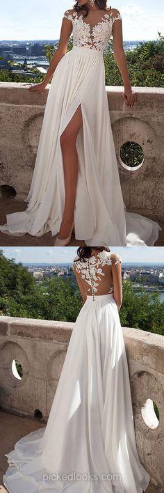 Fabulous Chiffon Lace Ball Dresses