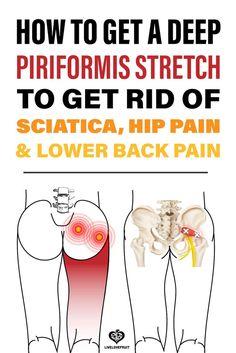 Sciatica Stretches, Sciatic Pain, Hip Stretches, Sciatic Nerve Relief, Hormon Yoga, Hip Pain Relief, Lower Back Pain Relief, Piriformis Muscle, Piriformis Syndrome