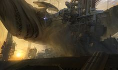 ArtStation - The advance on 'Object 01', Titus Lunter