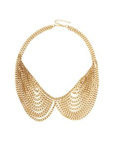 Multi Chain Rounded Collar Necklace. Bought it!