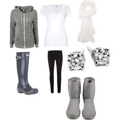 """winter outfit simple & comfy"" by charasroberds on Polyvore"