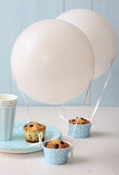 Balloon muffins!