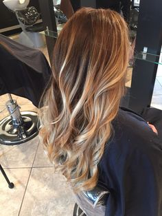 balayage | Tumblr Brown To Blonde, Tumblr, Long Hair Styles, People, Beauty, Beleza, Long Hair Hairdos, Cosmetology, People Illustration