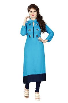 New Stylish Look Indian Style Kurti With Beatiful Design With Attractive Look. Maroon Color, Pink Color, Gray Color, Mirror Work Kurti, Blue C, Online Shopping Websites, Coffee Colour, Indian Fashion, High Neck Dress