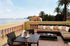 Terrace @ Hotel Royal Riviera, French Riviera