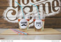 Hipster Wedding Stickers - Free Printable | DIYs & Printables, Wedding | The Pretty Blog