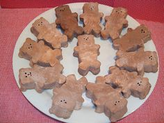 "Make your own chocolate marshmallow bear ""peeps""."