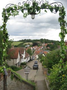 Kersey, Suffolk, taken from the 12th century church of St Mary's