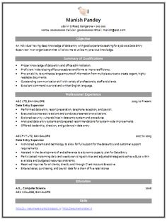 2 Page Resume Format Sample Template Of A Experienced Mechanical Engineer With Great