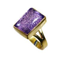 indian Gold Plated fine Natural Multi Ring gift UK