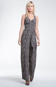 Hinge® Print Halter Jumpsuit available at Nordstrom