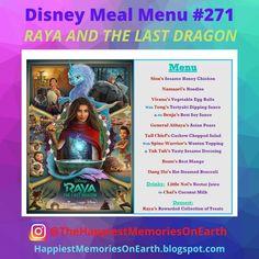 Disney Meal #271 - Raya And The Last Dragon