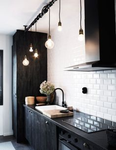 Esta noche cocino yo & Track lighting alternative | Home Decor u0026 DIY | Pinterest | Bulbs ... azcodes.com
