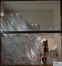 Anthropologie Holiday Window Displays, 2011