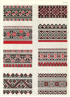 Blackwork Embroidery, Cross Stitch Embroidery, Embroidery Patterns, Hand Embroidery, Cross Stitch Borders, Cross Stitch Charts, Cross Stitching, Palestinian Embroidery, Paper Drawing