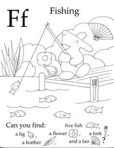 Seek and Finds Alphabet sounds Free preschool and Preschool