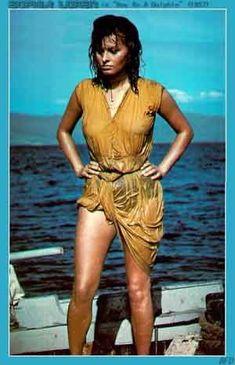 Sophia Loren in 'Boy on a Dolphin' (1957)