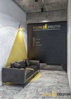 Illumination with yellow and other colors (TRAFFIC! Clinic Design, Gym Design, Cafe Design, House Design, Commercial Design, Commercial Interiors, Interior Architecture, Interior Design, Cafe Interior