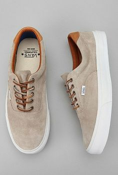 Vans California Era 48 Suede Sneaker - Era shoes are the comfiest Vans Sneakers, Suede Sneakers, Sneakers Fashion, Fashion Shoes, Mens Fashion, Mens Vans Shoes, Vans Suede, Vans Men, Adidas Shoes