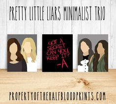 PRETTY LITTLE LIARS Minimalist Trio