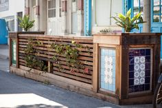 Fence style on SF parklet projects