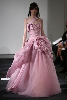 Vera Wang 2014; bridesmaid dress