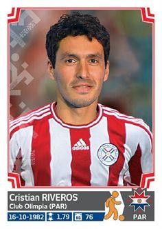 170 Cristian Riveros - Paraguay - Copa America - Chile 2015
