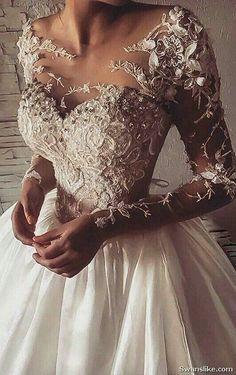 Custom wedding dress by Darius Bridal - Hochzeit - Most Beautiful Wedding Dresses, Elegant Wedding Gowns, Custom Wedding Dress, Modest Wedding Dresses, Bridal Dresses, Lace Wedding, Bridal Gown, Luxury Wedding Dress, Gothic Wedding