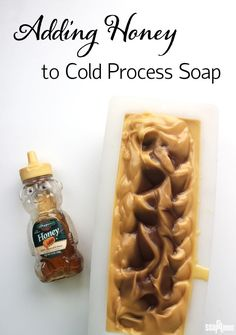 Learn how to work with honey in cold process soap, and see what happens when too much honey is added!