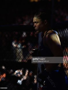 Ronda Rousey prepares to face Amanda Nunes in their UFC bantmaweight championship bout during the UFC 207 event at T-Mobile Arena on December 30, 2016 in Las Vegas, Nevada.