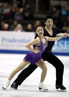 Maia and Alex Shibutani  U.S. nats, SD, Ice Dance Costume inspiration for Sk8 Gr8 Designs.