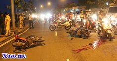 Đối đầu xe máy với thanh niên trẻ, người đàn ông tử vong