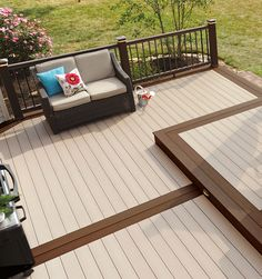 Composite decking for beautiful outdoor spaces. Browse TimberTech's range of low-maintenance composite decking boards. Sale now on! Deck Stain Colors, Deck Colors, Hawaii Homes, Pergola Plans, Deck Plans, Backyard, Patio, Composite Decking, Decks And Porches