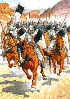 Charge of the Templar Knights