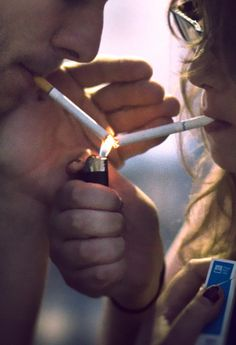 i just want someone to share a cig with