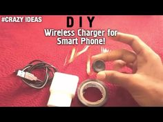 Smartphone Charger Convert Into Wireless Charger - YouTube