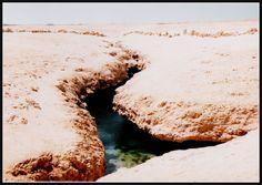 Minhas fotos do Mar Vermelho-Egito... Aguas azuis, golfinhos, corais e... camelos! - SkyscraperCity-Estas fendas foram criadas por um terremoto nos anos 50.