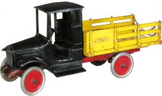 Buddy-L Pressed Steel Baggage Line Toy Truck