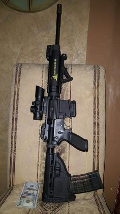 Sig sauer ar15 with fab defense survival buttstock....