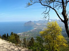 View from atop Erice
