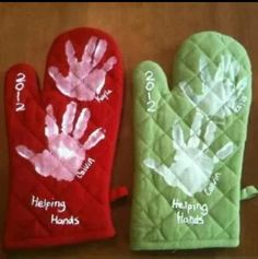 Mothers Day Oven Mitt Craft