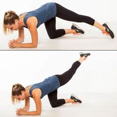Quadruped Triangle - 10 Knee-Friendly Lower-Body Toners - Shape Magazine - Page 10