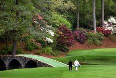 Tour the Famous Landmarks at Augusta National Golf Club: Hogan Bridge at Augusta National